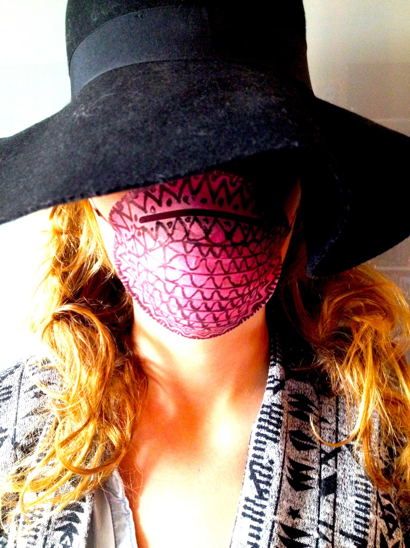 masque chirurgical deguisement